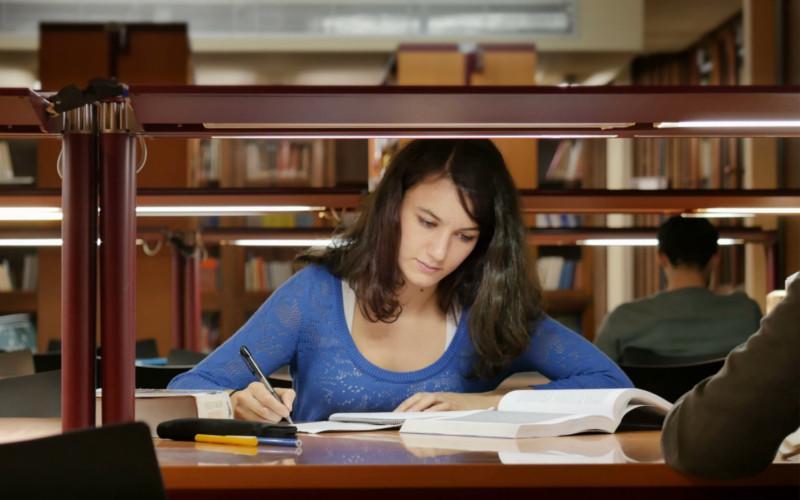 Estudar na Biblioteca
