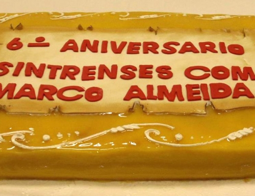 6º Aniversário da nossa Associação Sintrenses com Marco Almeida.