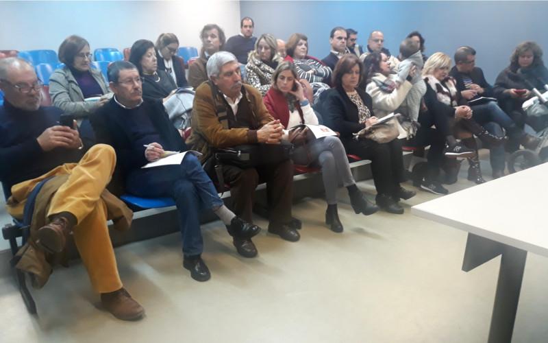 """Reunião da Associação """"Sintrenses com Marco Almeida"""""""