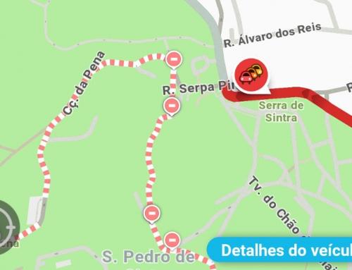 Serra de Sintra interdita ao trânsito durante o fim de semana