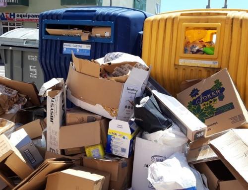 Lixo acumulado já é uma constante no concelho de Sintra