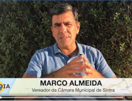 Vídeo de Marco Almeida sobre a interdição do acesso à serra de Sintra