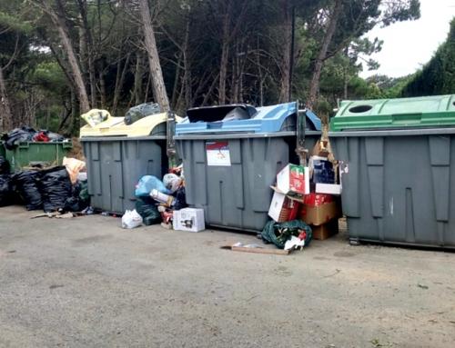 Alertámos para a necessidade de aumento da frequência das recolhas do lixo