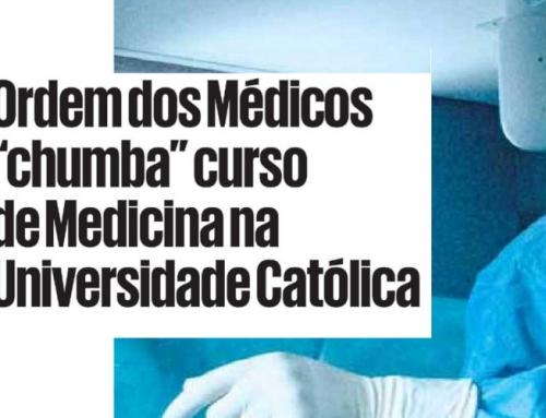 Ordem dos Médicos emite parecer desfavorável sobre a anunciada Faculdade de Medicina no concelho de Sintra