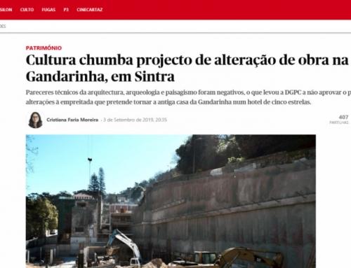Direcção-Geral do Património Cultural (DGPC) chumba projecto de alteração de obra na antiga casa da Gandarinha