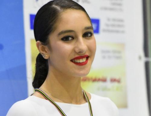 Atleta Bruna Borges conquista medalha de Bronze na Taça da Europa de Patinagem Artística