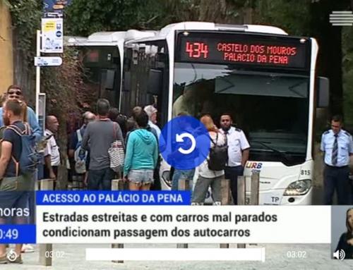 Câmara de Sintra vai condicionar acesso de viaturas particulares ao Palácio da Pena