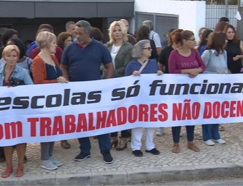 Continuam as greves de funcionários não docentes em escolas do concelho de Sintra