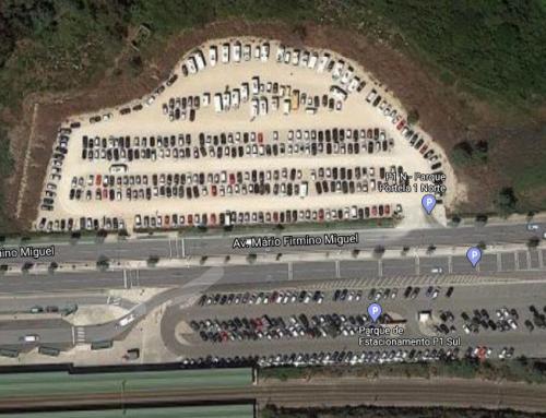 Parque de estacionamento da Portela será finalmente requalificado