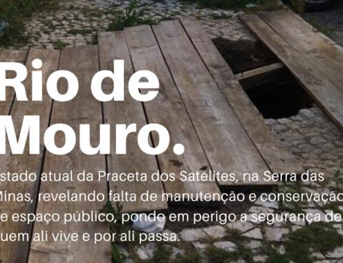 Falta de manutenção e conservação do espaço público em Rio de Mouro