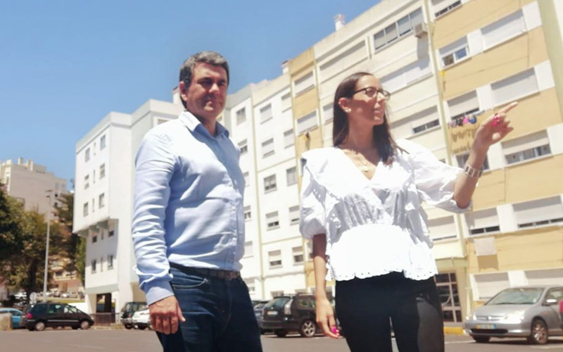 Visitámos a Praceta Gregório de Almeida, em Massamá