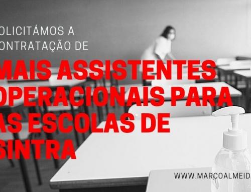 Solicitámos a contratação de mais Assistentes Operacionais para as Escolas do Concelho