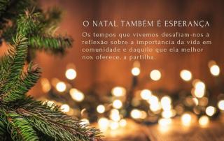 O Natal também é esperança