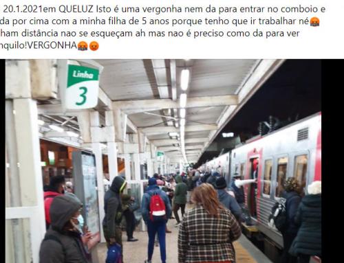 Perigo nos comboios de Sintra!