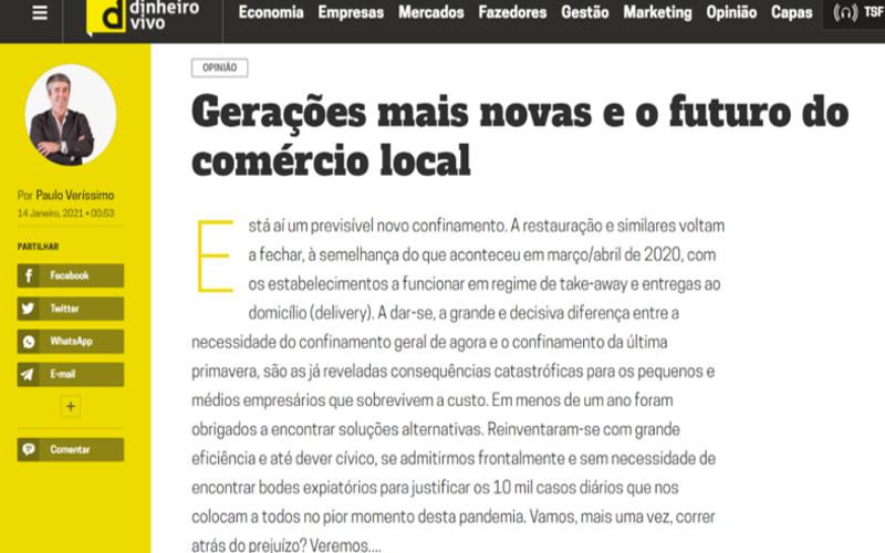 Gerações mais novas e o futuro do comércio local