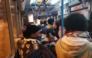 Vereadores Marco Almeida e Andreia Bernardo exigem soluções para os transportes públicos