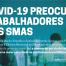 COVID-19 preocupa trabalhadores dos SMAS