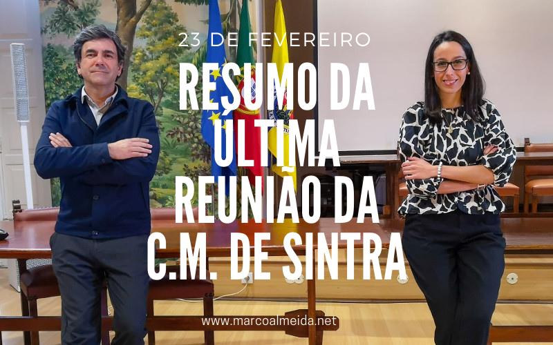 78.ª Reunião Ordinária e Pública da Câmara Municipal de Sintra