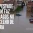 Tempestade Karim faz estragos no concelho de Sintra