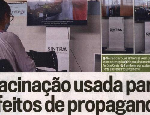Concelho de Sintra: Vacinação usada para efeitos de propaganda