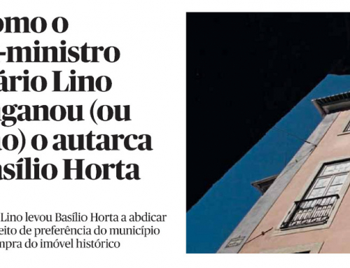 Como o ex-ministro Mário Lino enganou (ou não) o autarca Basílio Horta