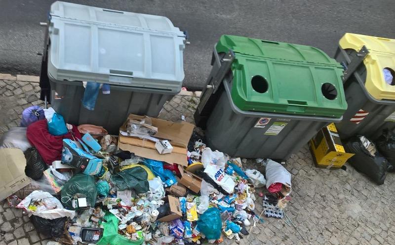 Lixo em Sintra