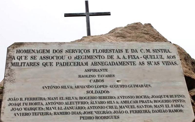 Há 52 anos morreram 25 soldados num inferno de chamas na serra de Sintra
