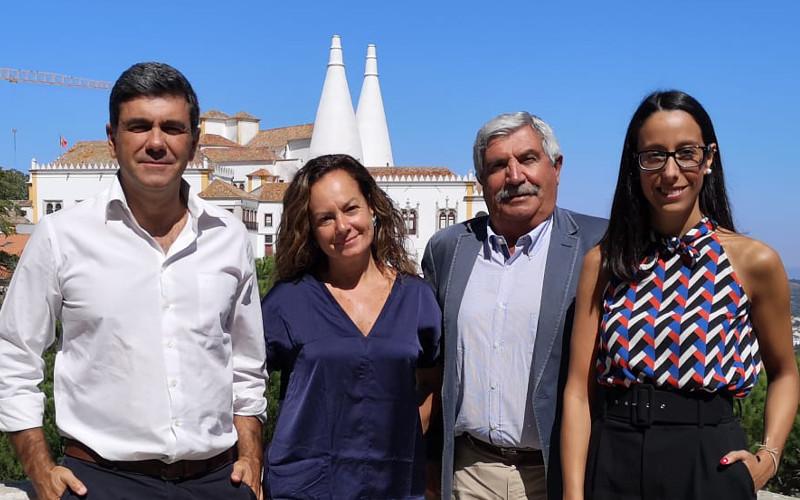 Marco Almeida, Paula Simões, Carlos Parreiras e Andreia Bernardo