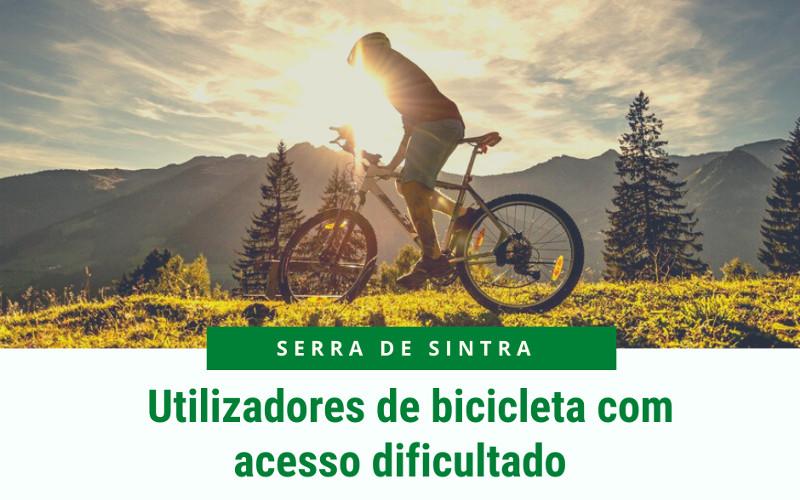 Limitações de circulação implementadas dificultam o acesso à Serra de Sintra dos utilizadores de bicicleta