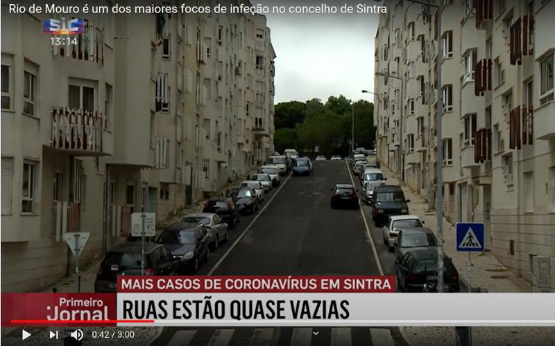 Reportagem SIC: Rio de Mouro é um dos maiores focos de infeção no concelho de Sintra