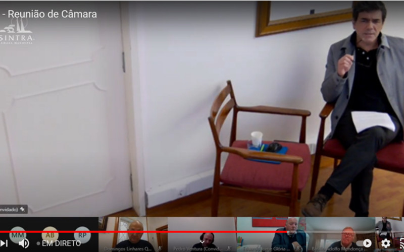 Síntese da 76.ª Reunião Ordinária e Pública da Câmara Municipal de Sintra