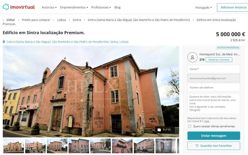 Antigo Hospital de Sintra não merece ser recuperado?