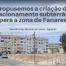 Propusemos a criação de estacionamento subterrâneo para a zona de Fanares