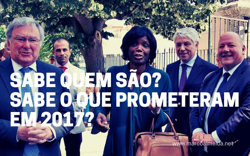 Sabe quem são? Sabe o que prometeram em 2017?