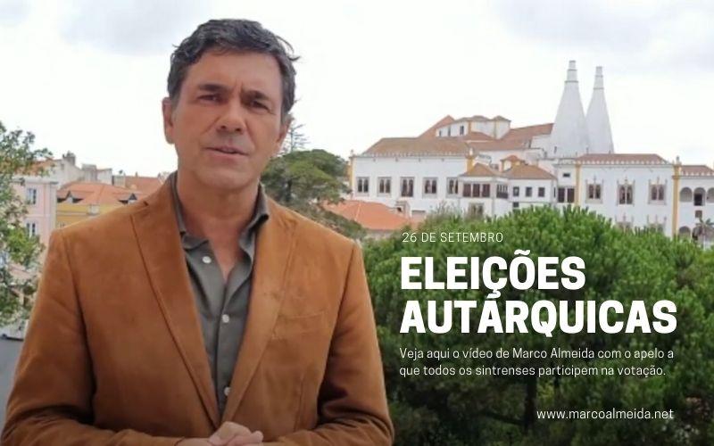 Marco Almeida apela ao voto nas eleições autárquicas de 26 de setembro de 2021