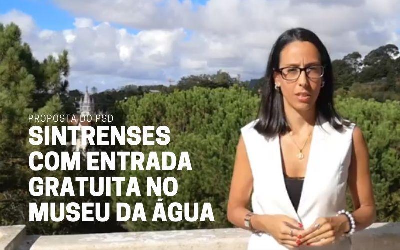 Proposta do PSD isenta Sintrenses de pagamento em visitas ao Museu da Água e à Oficina de Ambiente